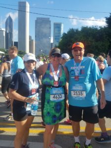 Finally getting the chance to meet and run with Martin and Diane!